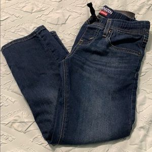 Boys drawstring denizen jeans